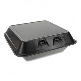 Pactiv; SmartLock Lid Foam Food Container, 9 x 9-1/8 x 3-1/4