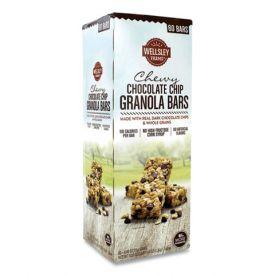 Wellsley Farms Chewy Chocolate Chip Granola Bars .88oz.