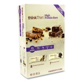 thinkTHIN Peanut Butter and Brownie Crunch Bars 2.1oz.