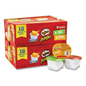 Pringles Grab & Go Variety Pack
