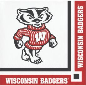University of Wisconsin Beverage Napkins, 2-Ply