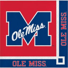 University of Mississippi Beverage Napkins, 2-Ply