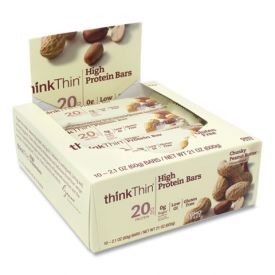 thinkThin High Protein Bars Chunky Peanut Butter 2.1oz.
