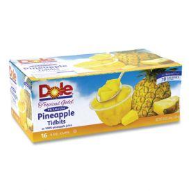 Dole Pineapple Tidbit Cups 4oz.