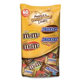 Mars Chocolate Peanut & Peanut Butter Lovers Fun Size Mix 35oz.