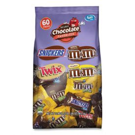 Mars Chocolate Favorites Fun Size Candy Bars Mix 31.18oz.