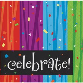 Milestone Celebrations Beverage Napkins, 3-Ply