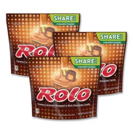 ROLO Creamy Caramels Wrapped in Rich Chocolate Candy 10.6 oz.