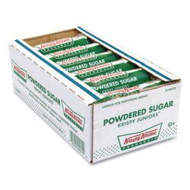 Krispy Kreme Powdered Sugar Junior Doughnuts 3oz.