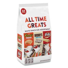 Hershey's All Time Greats White Snack Size Assortment 32.5oz.