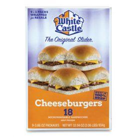 White Castle Cheeseburger Sliders 3.66oz.