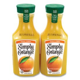 SIMPLY ORANGE Orange Juice Pulp Free 52oz.