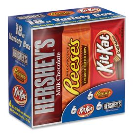 Hershey's Full Size Chocolate  Bar Variety Pack 1.5oz.