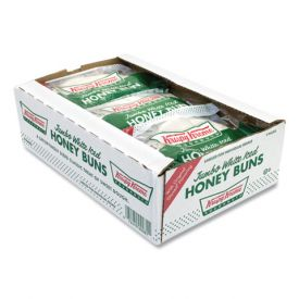 Krispy Kreme Jumbo White Iced Honey Bun 5oz.