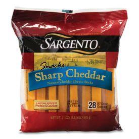 Sargento Sharp Cheddar Cheese Sticks 21 oz.