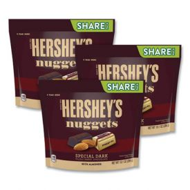 Hershey's NUGGETS Special Dark Chocolate with Almonds 10.1oz.