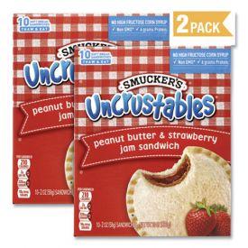Smucker's Uncrustables Peanut Butter & Strawberry 2oz.