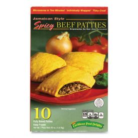 Jamacian Style Spicy Beef Empanadas 50oz. *Expected Availability Week of 11-30-20*