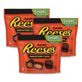 Reese's Dark Chocolate Peanut Butter Cups Mini's Share Pack 10.2oz.
