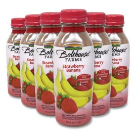 Bolthouse Farms Strawberry Banana 100% Fruit Juice Smoothie 15.2oz.