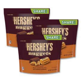 Hershey's NUGGETS Milk Chocolate with Toffee & Almonds 10.2oz.