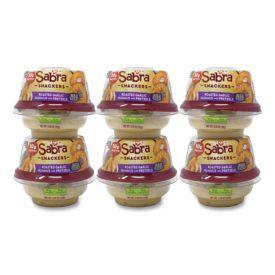 Sabra Snackers Classic Hummus w/ Pretzel 4.56oz.