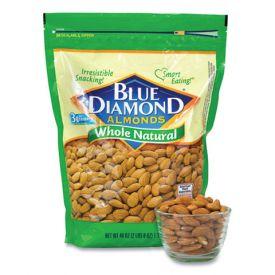 Blue Diamond Natural Almonds 40oz.