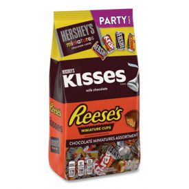 Hershey's Variety Party Pack Reese's, KISSES, and Milk Chocolate 35oz.