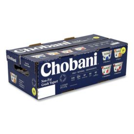 Chobani Greek Yogurt Variety Pack 5.3oz.