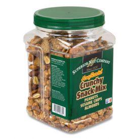 Superior Nut Honey Roasted Crunch Snack Mix 28oz.