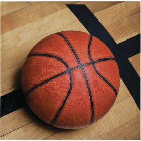 Sports Fanatic Basketball Beverage Napkins 2-Ply