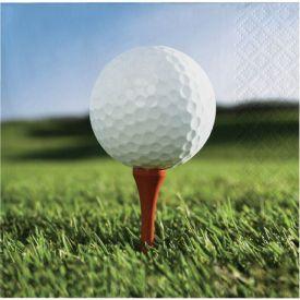 Sports Fanatic Golf Beverage Napkins 2-Ply