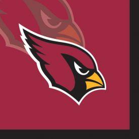 NFL Arizona Cardinals Beverage Napkins 2-Ply