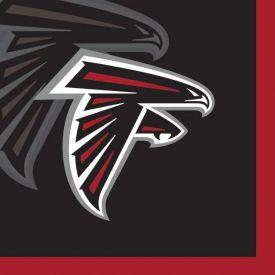 NFL Atlanta Falcons Beverage Napkins 2-Ply