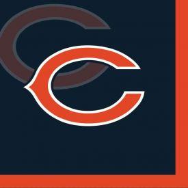 NFL Chicago Bears Beverage Napkin, 2 ply