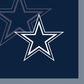 NFL Dallas Cowboys Beverage Napkin, 2 ply