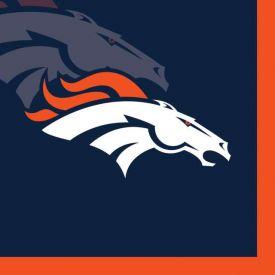 NFL Denver Broncos Beverage Napkin, 2 ply