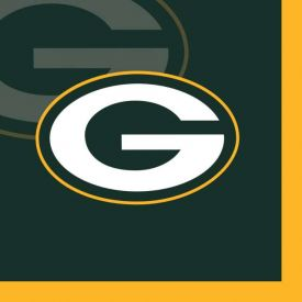 NFL Green Bay Packers Beverage Napkin, 2 ply
