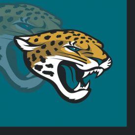 NFL Jacksonville Jaguars Beverage Napkins, 2 ply