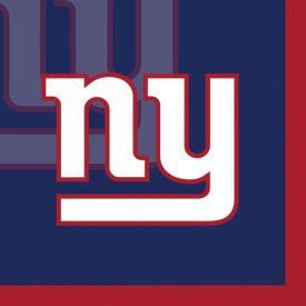NFL New York Giants Beverage Napkin, 2 ply