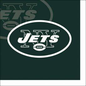 NFL New York Jets Beverage Napkin, 2 ply