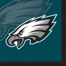 NFL Philadelphia Eagles Beverage Napkin, 2 ply