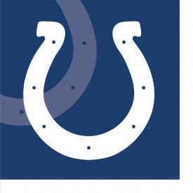 NFL Indianapolis Colts Beverage Napkin, 2 ply