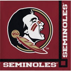Florida State University Beverage Napkins 2-Ply