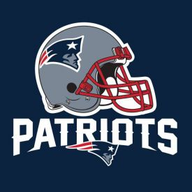 NFL New England Patriots Lunch Napkins, 2 ply