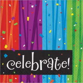 Milestone Celebrations Lunch Napkins, 3-Ply, Celebrate