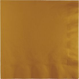 Glittering Gold Lunch Napkins, 2-Ply