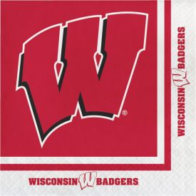 University of Wisconsin Lunch Napkins, 2-Ply