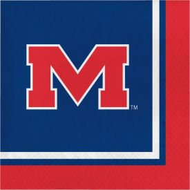 University of Mississippi Lunch Napkins, 2-Ply