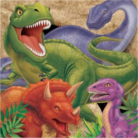 Dino Blast Lunch Napkins, 3-Ply